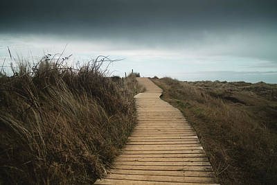 Photograph - Beach Boardwalk by James Billings