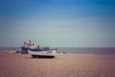 Photograph - Beach Boats by David Warrington