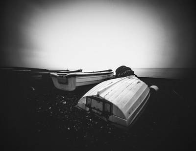 Photograph - Beach Boats by Will Gudgeon