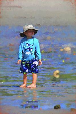 Photograph - Beach Boy by Carol Montoya