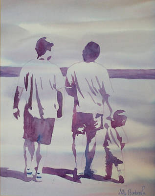Beach Boys Art Print by Ally Benbrook