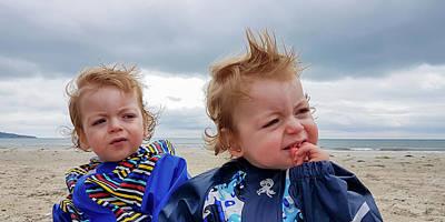 Photograph - Beach Boys Too by Semmick Photo