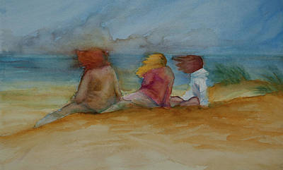 Painting - Beach Breeze by Jani Freimann