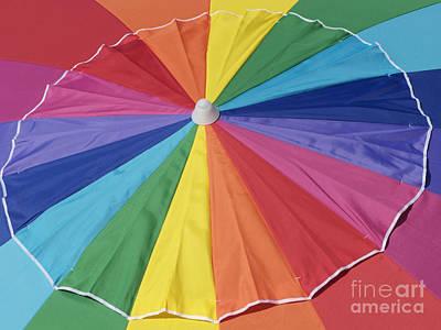 Lucille Ball - Beach Brolly by Ann Horn