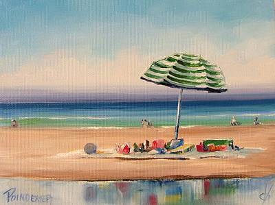 Painting - Beach Bummin by Dianna Poindexter