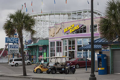 Photograph - Beach Bums - Myrtle Beach South Carolina by Suzanne Gaff