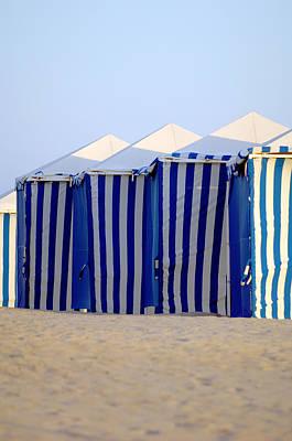Photograph - Beach Cabanas by Jill Reger