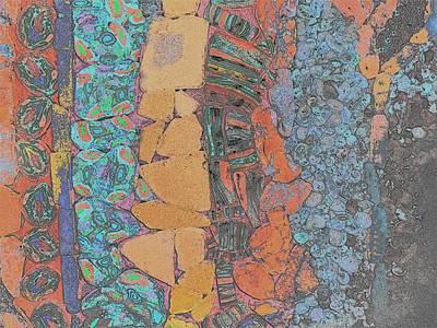 Polymer Digital Art - Beach Cactus #2 by Karen Matthews