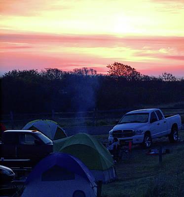 Photograph - Beach Camping by  Newwwman