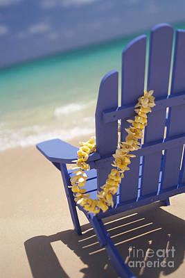 Beach Chair Art Print
