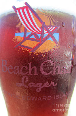 Photograph - Beach Chair Lager by Randall Weidner