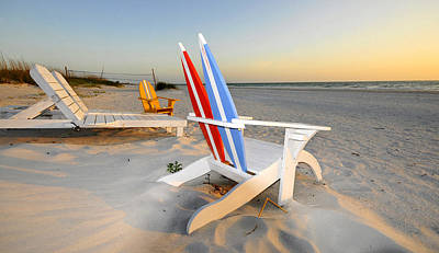 Photograph - Beach Chair Paradise by David Lee Thompson