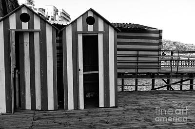Photograph - Beach Changing Room by John Rizzuto