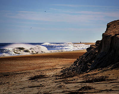 Photograph - Beach Cliff At Indian River by Bill Swartwout Fine Art Photography