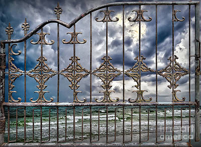 Photograph - Beach Closed by Walt Foegelle