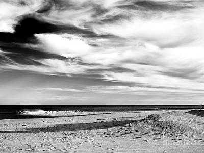 Photograph - Beach Clouds At Asbury Park by John Rizzuto