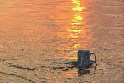 Photograph - Beach Coffee by Jamart Photography