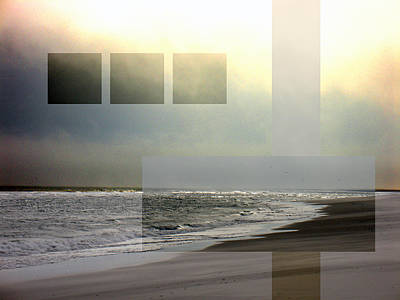 Photograph - Beach Collage 2 by Steve Karol