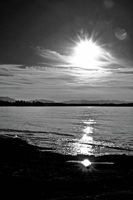 Photograph - Beach Comber Sunset by Brian Sereda