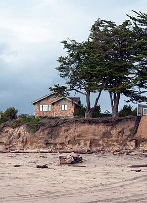 Photograph - Beach Cottage by Haleh Mahbod