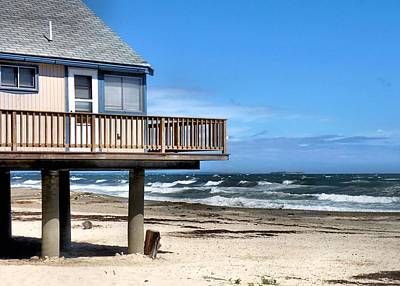 Photograph - Beach Cottage by Janice Drew
