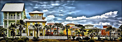 Photograph - Beach Cottages by Walt Foegelle
