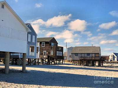 Photograph - Beach Cottages White Horse Beach  by Janice Drew