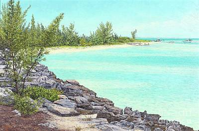 Painting - Beach Cove by Eddie Minnis