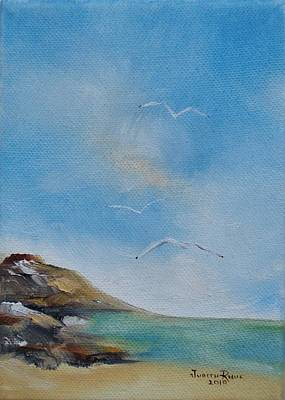 Painting - Beach Cove by Judith Rhue