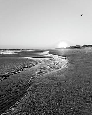 Photograph - Beach Dawn by Alan Raasch