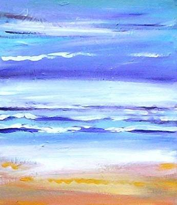 Painting - Beach Dawn by Winsome Gunning
