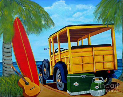 Painting - Beach Day by Anthony Dunphy