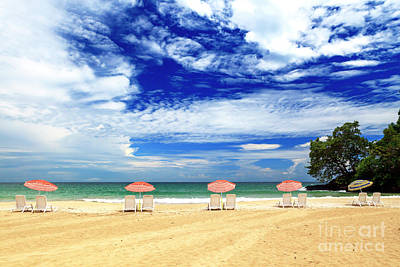 Photograph - Beach Day At Red Frog Beach Panama by John Rizzuto
