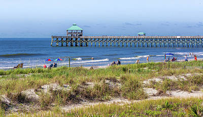 Photograph - Beach Day Folly Beach by Donnie Whitaker
