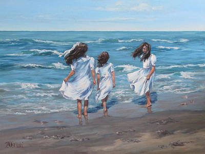 Painting - Beach Day by Karen Ilari