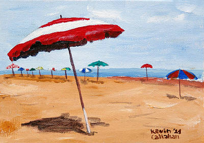 Painting - Beach Day by Kevin Callahan