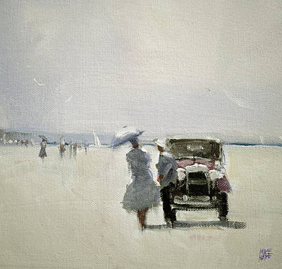 Wall Art - Painting - Beach Day by Mike Barr