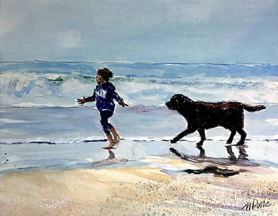 Painting - Beach Day by Molly Poole