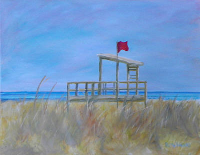Painting - Beach Day by Patty Weeks