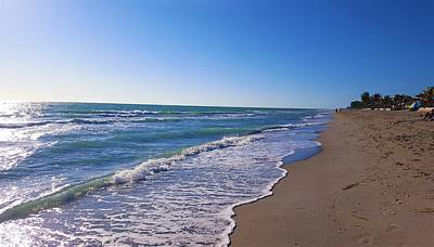 Gulf Of Mexico Photograph - Beach Day by Ric Schafer