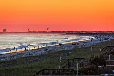 Photograph - Beach Days End by Alan Raasch