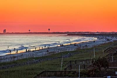 Photograph - Beach Days End by Alan Raasch