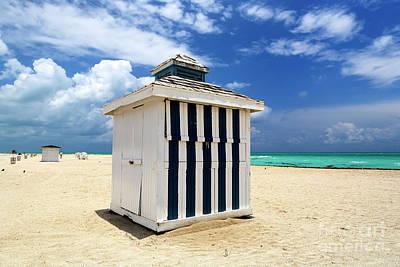 Photograph - Beach Daze In South Beach by John Rizzuto