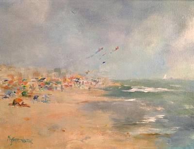 Painting - Beach Daze by Kathleen Harrington