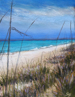 Pastel - Beach Dreaming by Susan Jenkins