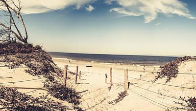 Water Filter Photograph - Beach Dune Path by Jorgo Photography - Wall Art Gallery