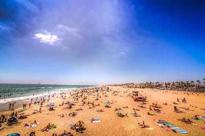 Sun Tan Photograph - Beach Dweller by Spencer McDonald
