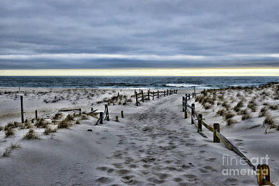 Photograph - Beach Entry by Paul Ward