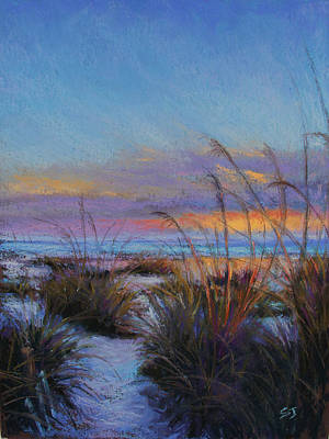 Pastel - Beach Escape by Susan Jenkins