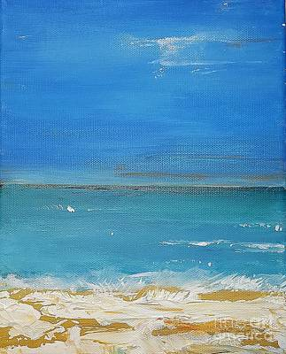 Painting - Beach  Evening by Diana Bursztein